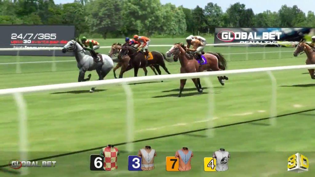 พนันเกมแข่งม้าเสมือนจริงออนไลน์